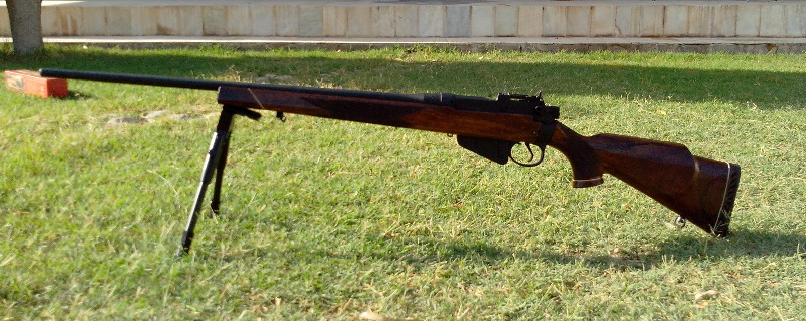 Modifying my Lee Enfield No4 Mk1 – My Random Ramblings