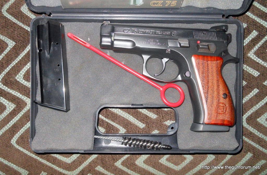 CZ 75B Compact (Stainless Steel) Handgun- Short Review – My