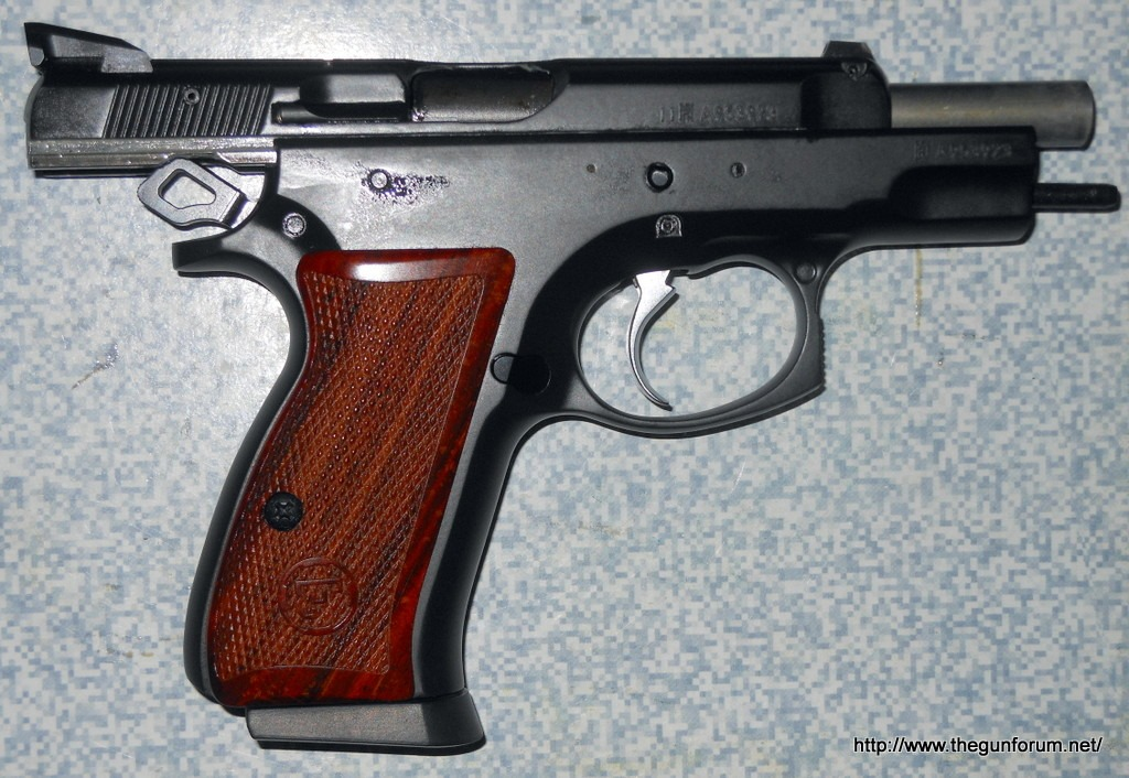 Cz 75b Compact Stainless Steel Handgun Short Review