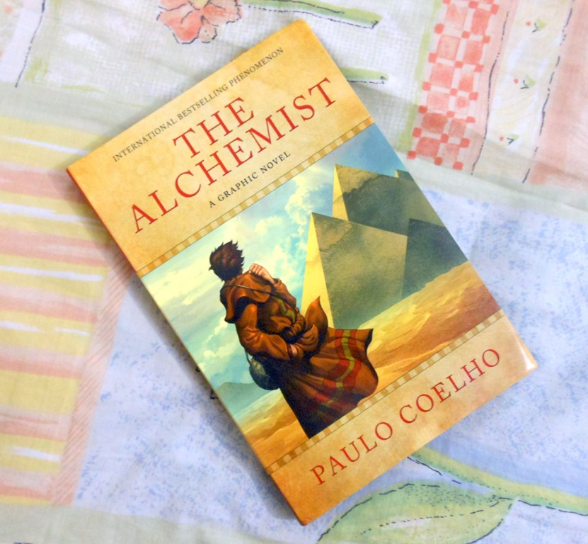"the alchemist"" graphic version by paulo coelho my random ramblings  over two million copies cold paulo coelho s novel the alchemist is still going strong and changing the lives of people around the world"