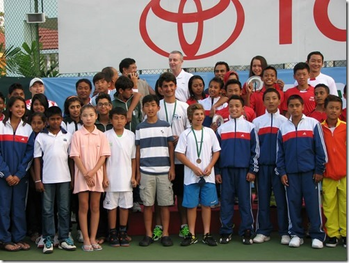 20f. ALL TEAM AT BANGKOK ITF Jan14
