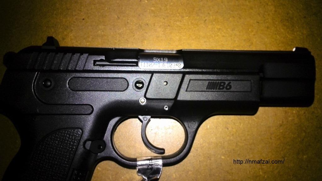 Sarsilmaz B6 by POF Wah–Handgun Review – My Random Ramblings
