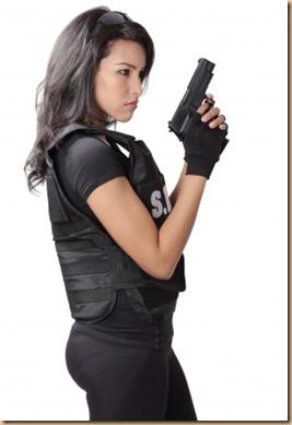women and handguns