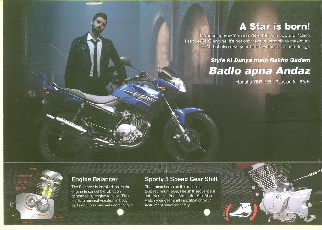 Yamaha YBR 125 : Short Review – My Random Ramblings