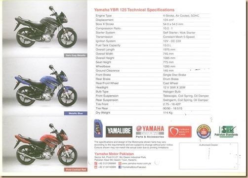 Yamaha YBR-125-4