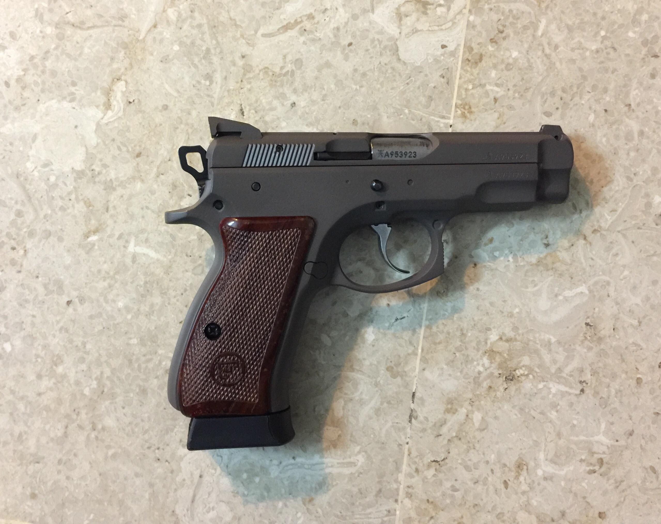 Got the CZ 75B compact Duracoated – My Random Ramblings