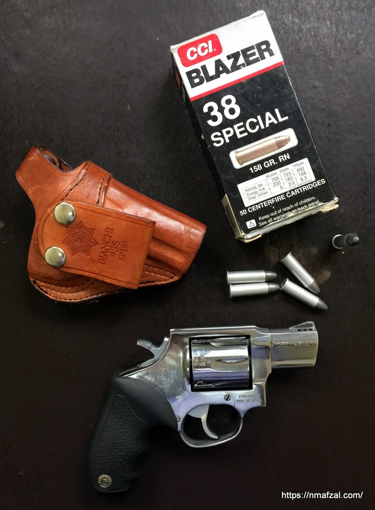 Taurus 617 , 7 shot revolver – short review – My Random